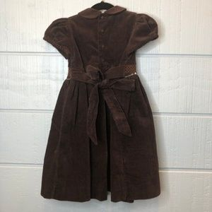 Emily Lacey Dresses - Emily Lacey Brown Smocked Dress 4